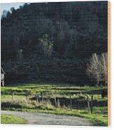 Peaceful West Virginia Valley Wood Print