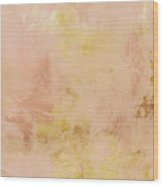 Peach Harvest- Abstract Art By Linda Woods. Wood Print