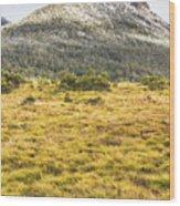 Peaks And Plateaus Wood Print