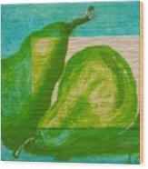 Pear Gem 2 Wood Print