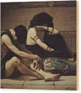 Pearce C S The Death Of The First Born Wood Print