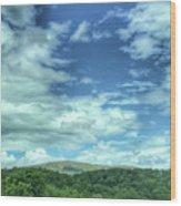 Pearisburg Virginia View Wood Print