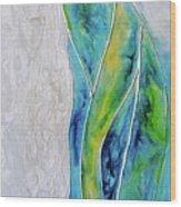 Pearl Falls Wood Print