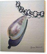 Pearl Wood Print by Irina Sztukowski