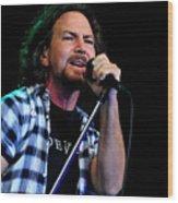 Pearl Jam Wood Print