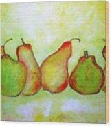 Pears - 2016 Wood Print