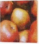 Pears D'anjou Wood Print