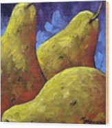 Pears For You Wood Print