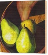 Pears No 1 Wood Print