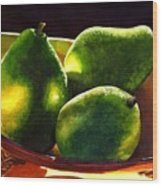 Pears No 2 Wood Print