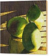Pears No 3 Wood Print