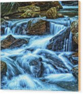 Pearsons Falls On Colt Creek Wood Print