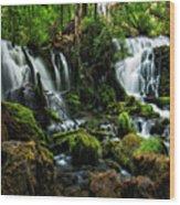Pearsony Falls Wood Print