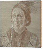 Peatwy Tuck-sac And Fox Wood Print