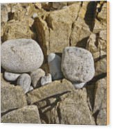 Pebble Pocket Photo Wood Print