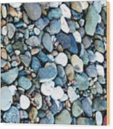 Pebbles 03 Wood Print