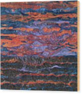 Pebeo After The Sunset Wood Print