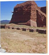 Pecos Mission New Mexico - 2 Wood Print