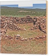Pecos National Monument - 4 Wood Print