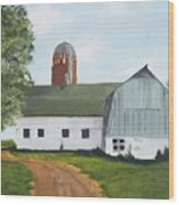 Pedersen Barn Wood Print