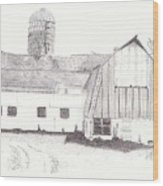 Pedersen Family Barn Wood Print