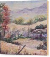 Pee Dee Creek Wood Print