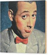 Pee-wee Herman Wood Print
