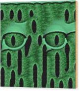 Peek-a-boo V3 Wood Print