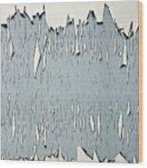 Peeling Paint 2 Wood Print