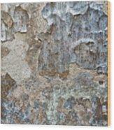 Peeling Wall. Wood Print