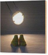 Peep Romance Wood Print by David April