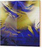 Pegasus From Above Wood Print