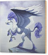 Pegasus Unchained Wood Print