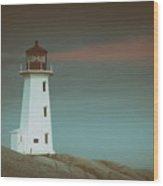 Peggy's Beacon Wood Print