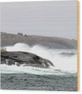 Peggys Cove Lighthouse 6138 Wood Print