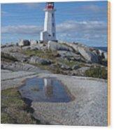Peggys Cove Nova Scotia Canada Wood Print