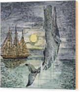 Pehe Nu-e: Moby Dick Wood Print