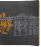 Pei Province House Wood Print