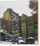 Peizazhna Alley Wood Print