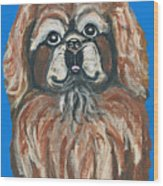 Peke For You Wood Print