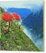 Peles Flower Wood Print