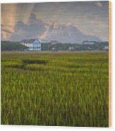 Pelican Inn Sunrise Wood Print