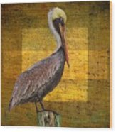 Pelican Poetry Wood Print