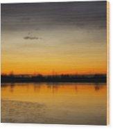 Pella Ponds  December 16th Sunrise Wood Print by James BO  Insogna