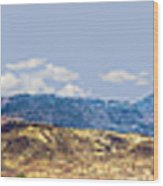 Peloncillo Mountains Panorama Wood Print