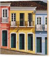 Pelourinho Wood Print