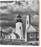 Pemaquid Point 4821b Wood Print