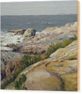 Pemaquid Point Wood Print