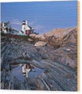 Pemaquid Point Lighthouse - D002139 Wood Print