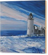 Pemaquid Winter Light Wood Print